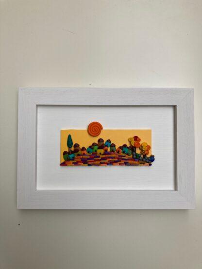 Mosaico - Paesaggio n. 60 - Tramonto